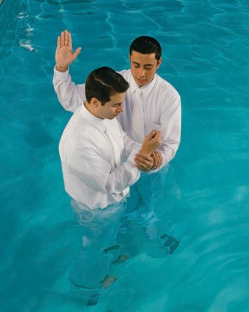 Why do Mormons believe in baptism by immersion?