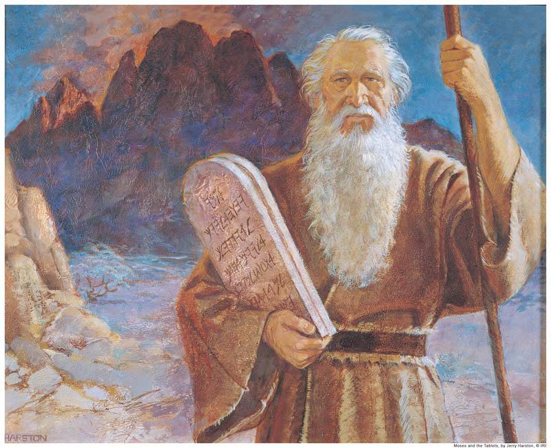 Moses Ten Commandments Mormon