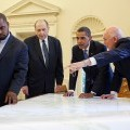 Mormon President Monson and US President Obama