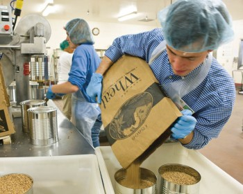 Mormon Canneries Share Food With Local Food Banks