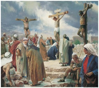 The atonement of Jesus Christ is central to Mormon beliefs.