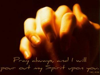 D&C Pray Always