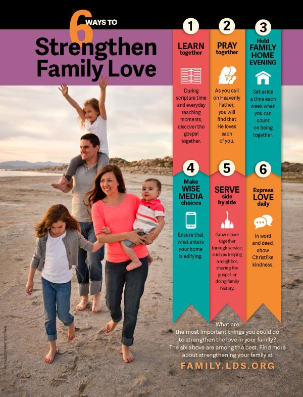 6 Ways to Strengthen Family Love