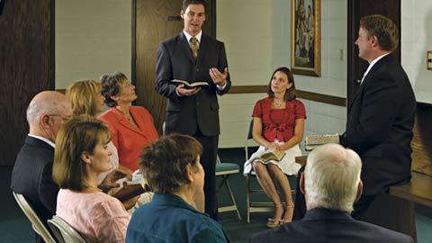 Mormon Sunday School Class