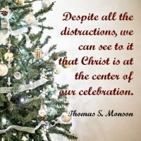 Christ is the Reason to Celebrate Mormon