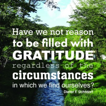Being Grateful in All Things
