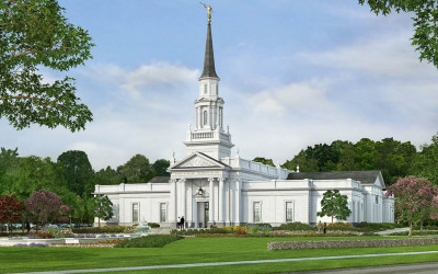 Mormon Temples Currently Under Construction Infographic